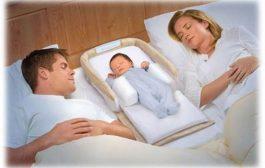 خوابیدن کودک در کنار پدر و مادر