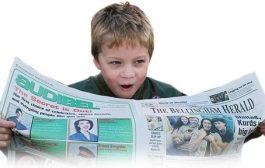 با خردسالان روزنامه خوانی کنید