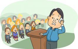 از حرف زدن در جمع می ترسی؟