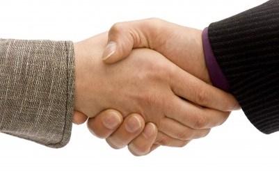 رازهای دست دادن