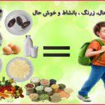 اهمیت تغذیه کودکان