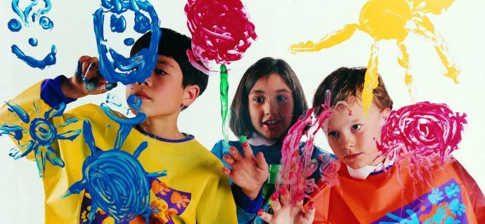 خلاقیت کودکان