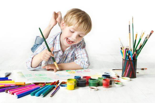 نکاتی درباره نقاشی کودکان